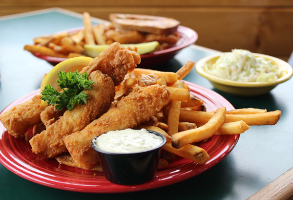 North Atlantic Haddock Fish and Chips