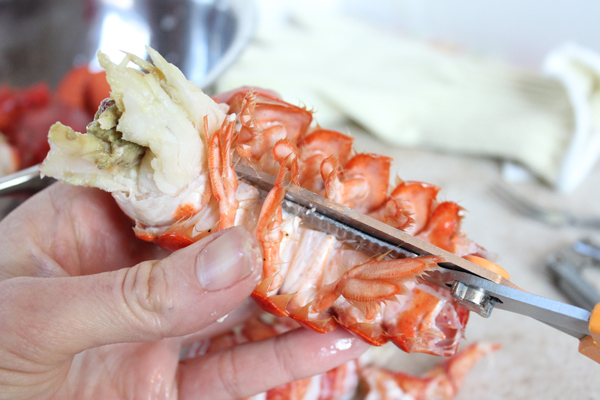 Cutting-Lobster-Tail