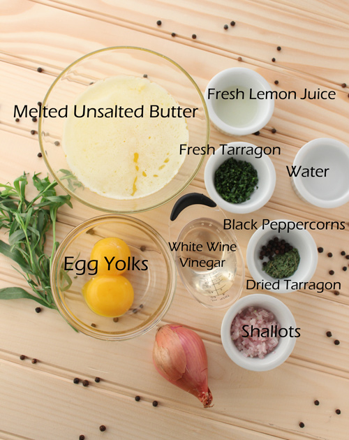 Bearnaise-Ingredients