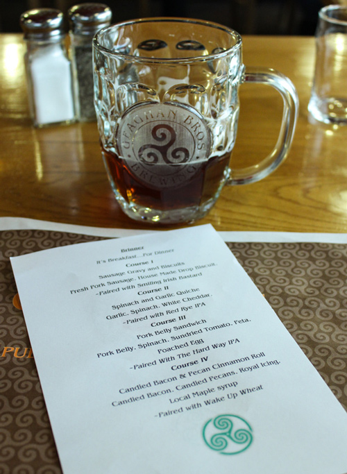 Geaghan's Pub & Craft Brewery-Course-Pairings
