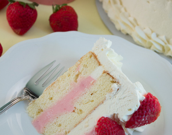 Frozen Strawberry Shortcake