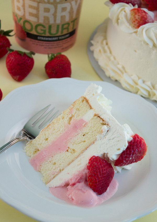... Frozen Strawberry Shortcake using only the best, made in Maine