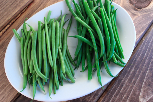 Non-blanched vs blanched