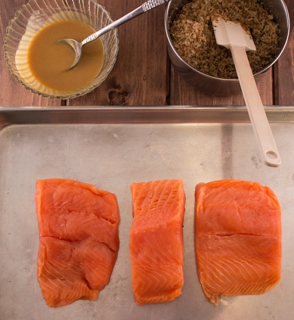Salmon with Maple Mustard