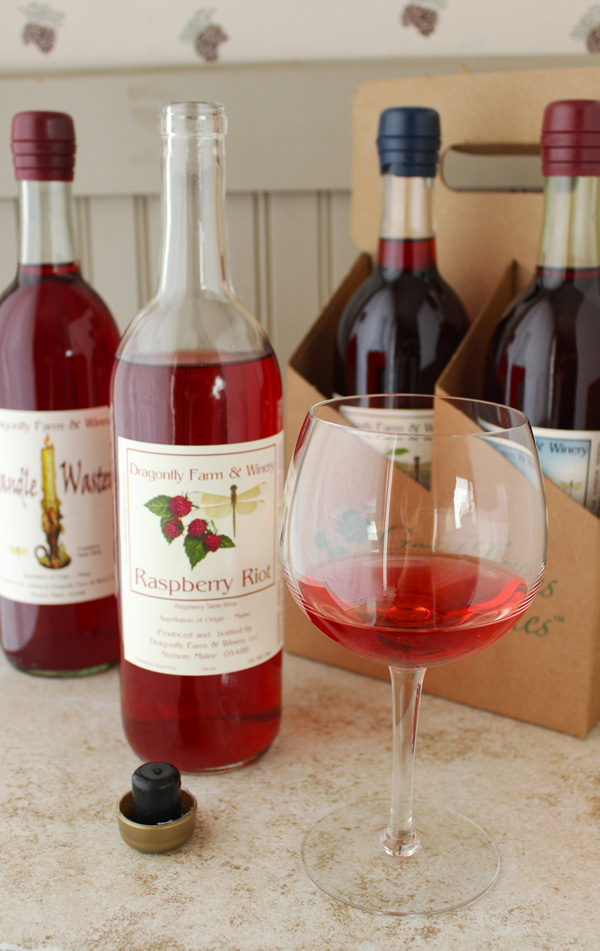 Dragonfly Farm & Winery Raspberry Riot