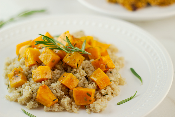 Herb Roasted Butternut Squash Quinoa